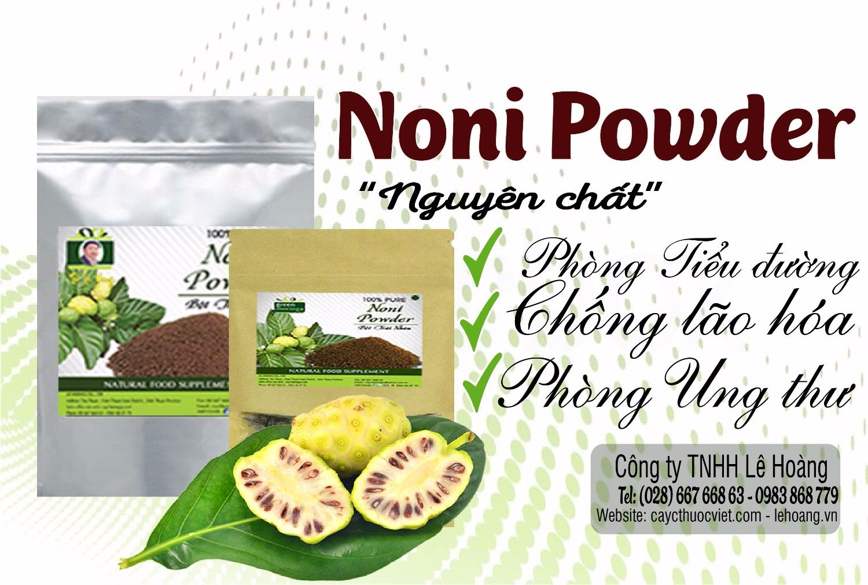 Bột Trái Nhàu (Noni Powder) có tác dụng gì? Tìm hiểu những Công dụng chữa bệnh của Bột Trái Nhàu (Noni Powder)